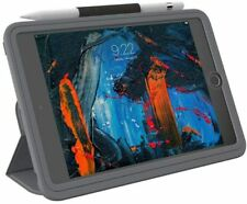 ZAGG Rugged Messenger Folio Case with Screen Protector for iPad Mini 5 - Gray