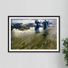 More details for ilya repin - what freedom (1903) photo poster painting art print