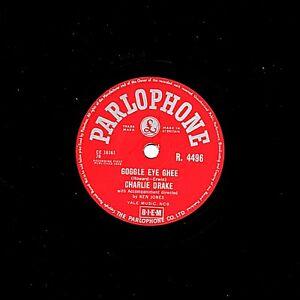 Eccezionale Charlie Drake 78 Occhialini Occhio Ghee / Tom Thumbs Tune Parlophone