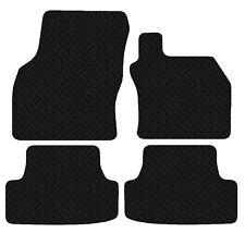 Seat Leon 2013 - Onwards Black Floor Tailored 3mm Rubber Car Mats