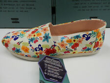 Toms Womens Classic Natural Floral Print 9