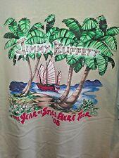 XXL brown T Shirt COLLECTIBLE jimmy buffett 08 YEAR OF STILL HEAR music TOUR fun