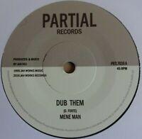 """MENE MAN / SEVENTH SENSE - Dub Them - 7"""" Vinyl - 🇧🇴 ROOTS REGGAE DUB"""