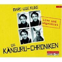 MARC-UWE KLING - DIE KÄNGURU-CHRONIKEN (LIVE U.UNGEKURZT) 4 CD NEU