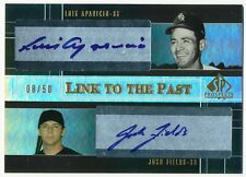 2004 SP Prospects LUIS APARICIO JOSH FIELDS RC Link to the Past Dual Auto #/50