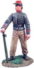 W. Britain -  Confederate Artillery Crewman holding Trail Spike - #31085