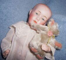 BEAUTY~Antique German Bisque Baby Doll 131~Soulful Intaglio Eyes~Hermann Steiner