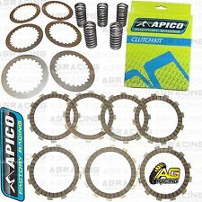 Apico Clutch Kit Steel Friction Plates & Springs For Honda CR 125 1988 Motocross