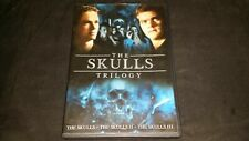 THE SKULLS TRILOGY DVD 2 DISC SET 3 FILMS MOVIE VIDEO MILES DAVIS CLARE KRAMER