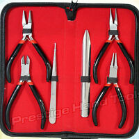 Professional Jewellery making tools kit Flat Chain Round Nose& Side cutters