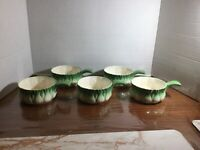 Set Of 5 L'Oignon Signed And Designed By George Briard Onion Soup Bowls