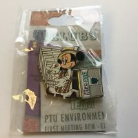 WDW - Pin Trading University - School Newspaper - Scoop Mickey Disney Pin 61873