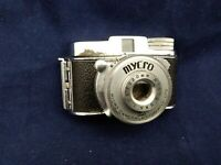 Vintage Rare Mycro IIIA Sub Miniature Spy Camera C1953 With Case And Filter Unit