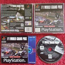 F1 World Grand Prix Original Etiqueta Negra Sony Playstation Psone PS1 PS2 PAL