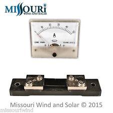 DC 50 AMP Analog Meter for Wind Turbine Generator Solar Panel PV RV Marine Auto
