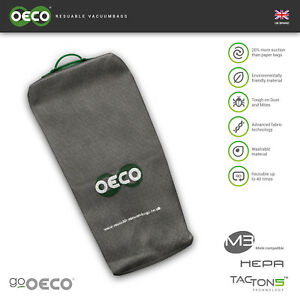 OECO® Miele Type U Reuable hoover dust Bag  for S7000 Dynamic U1 Upright Series