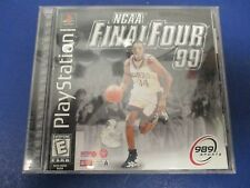 PlayStation 1, NCA Final Four '99, Rated E, 989 Sports,Collegiate TV-Style