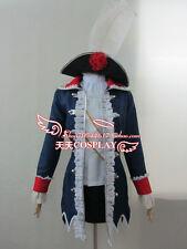 APH Axis Powers Hetalia Prussia Cosplay Costume K002