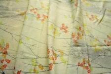 Floral 100% Silk Apparel-Dress Clothing Craft Fabrics