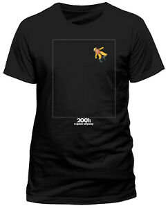 2001: A Space Odyssey 'Floating In Space' Black T-Shirt - NEW & OFFICIAL!