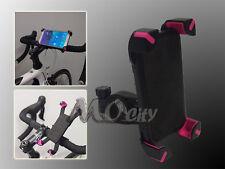 ATV/Bicycle/Bike/Golf Cart Handlebar Mount Holder for Apple iPhone Mobile PINK