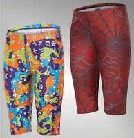 Boys Maru Breathable UPF 50+ Allover Print Jammers Swim Shorts Sizes 7-13 Yrs