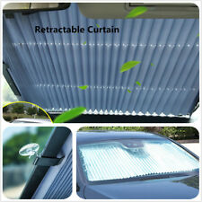 High Quality Aluminum foil Retractable Car Windshield Sun Visor Windscreen Blind