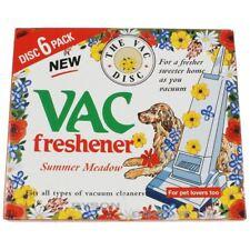 6 Disc Pack Vac Air Freshner Hoover Vacuum Cleaner Pet Lovers Summer Meadow Home