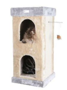 Double Condo Cat Tree Beige by Armarkat
