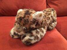 Steiff Soft Plush Patchy Leopard Toy Doll Cat With All IDs