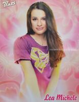 LEA MICHELE - A2 Poster (XL - 42 x 55 cm) - Glee Clippings Fan Sammlung NEU