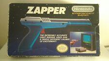 Nintendo Nes Zapper gun grey Mario Zelda duckhunt vintage boxed CIB rare CRT