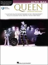 Queen Instrumental Play-Along Alto Sax Updated Book/Audio SAME DAY DISPATCH