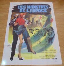 QUATERMASS AND THE PIT 1967 ORIGINAL CINEMA POSTER SCI FI HAMMER GRANDE NICE