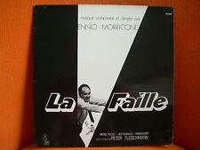 VINYL 33T – BOF OST LA FAILLE – ENNIO MORRICONE – 1975 ORIGINAL FRENCH ON YUKI