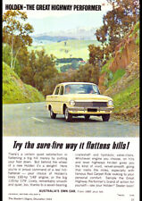 """1964 EH HOLDEN SPECIAL AD A2 CANVAS PRINT POSTER FRAMED 23.4""""x16.5"""""""