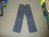 "Denim Co Relaxed Jeans Waist 26"" Leg 26"" Faded Dark Blue boys 11/12 Yrs Jeans"