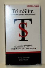 Trim Slim Advanced Weight Loss Program Extremely Effective Diet Revolution 9ct