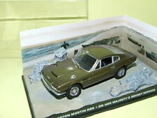 ASTON MARTIN DBS BOND on her majesty's secret service ALTAYA 1:43