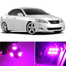 14 x Premium Hot Pink LED Lights Interior Package Kit for Lexus IS250 IS350