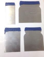 4pcs Car Body Filler Putty Paint Scrapers Applicator Spreader Set Steel Blade