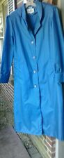 New listing Vintage Totes the Coat Blue Long Trench Raincoat Lightweight Coat Hood Size 12