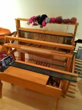 Leclerc Floor Loom  4 harness, bench and many accessories