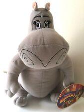 "Madagascar 3 GLORIA the HIPPO 12"" Licensed Plush Stuffed Animal .NEW. Dreamworks"
