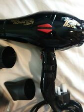 New boxed Parlux Advance Light Ceramic and Ionic Dryer - black gold RRP £120
