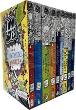 Tom Gates Collection Liz Pichon 9 Books Set Children Gift Pack Tiny Bit Lucky