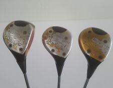 Ping EYE 2  3 Wood, 4 Wood & 5 Wood Vintage Right Handed Set Golf Pride Grips