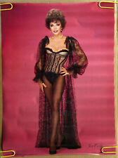 Joan Collins Original Vintage Poster Sexy woman Sexy Lingerie Head Shop 1983