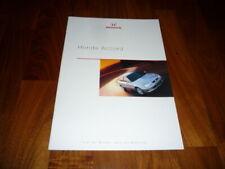 Honda Accord Prospekt 09/1999