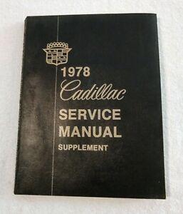 1978 Cadillac Service Manual